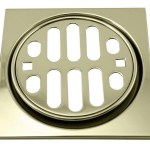 Westbrass Frank Pattern Snap In 4 5 Shower Strainer With Overflow Wayfair