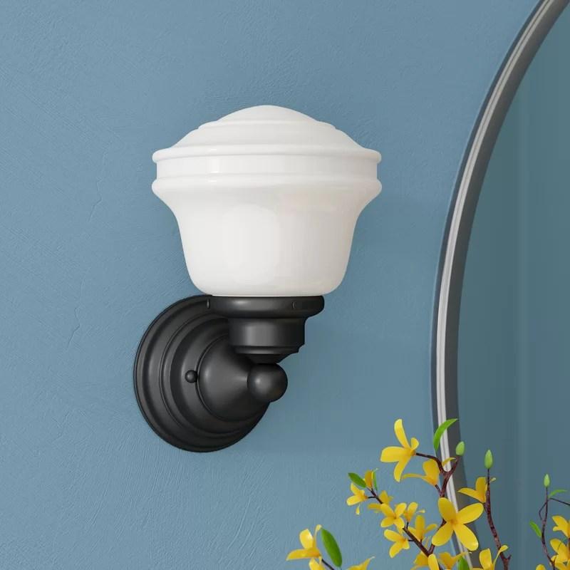 Laurel Foundry Modern Farmhouse Margaree 1-Light Bath ... on Wayfair Bathroom Sconces id=75853