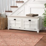 Storage White Benches You Ll Love In 2020 Wayfair