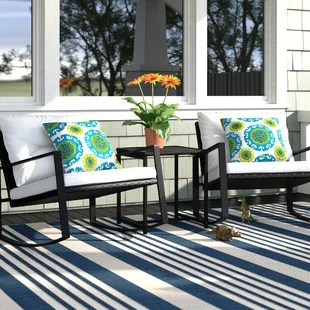 kemmer 3 piece seating group with cushions