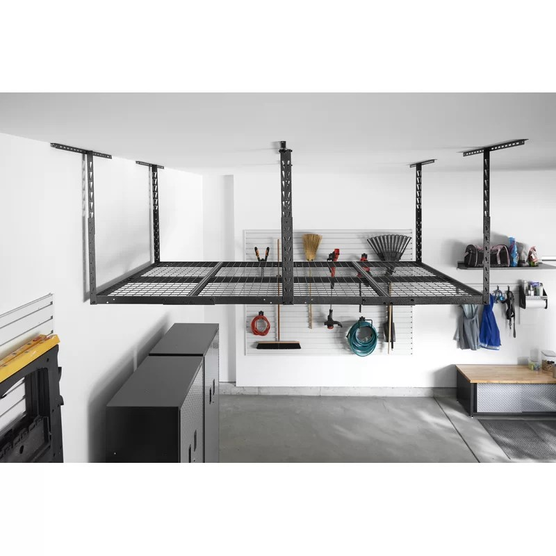 gearloft overhead garage ceiling mounted rack