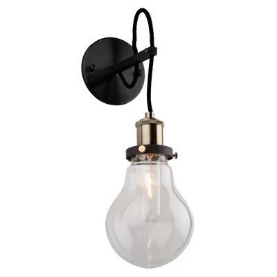 Non Hard Wired Wall Sconce | Wayfair on Non Wired Wall Sconces id=78564