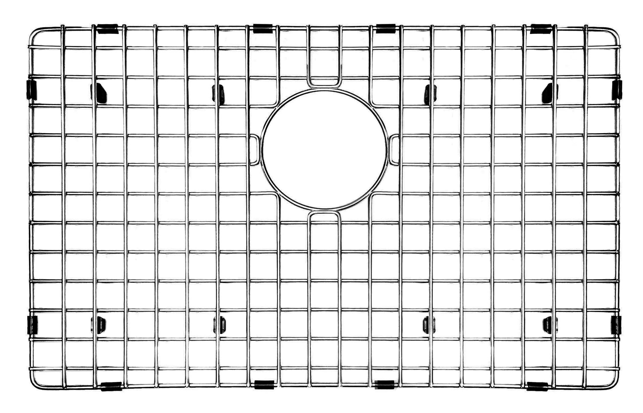 23 x 15 sink grid
