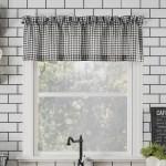 Gracie Oaks Annabelle Farmhouse Semi Sheer Rod Pocket Kitchen 54 Window Valance Reviews Wayfair
