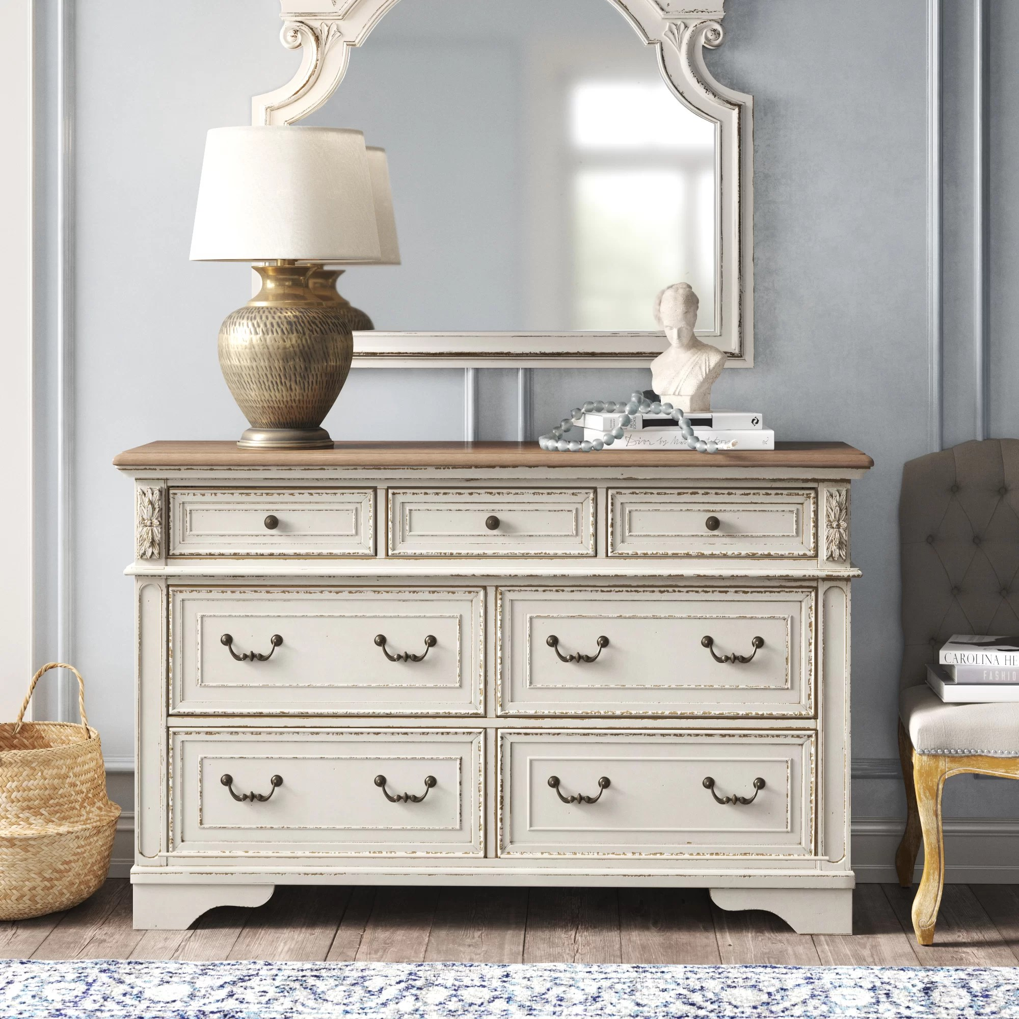 white wood dressers chests you ll