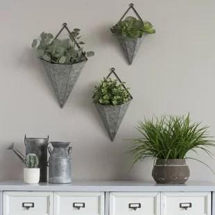 Indoor Wall Planters Amp Vertical Gardens Youll Love Wayfair