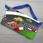 Toad And Lily Race Car Bedroom Personalized Door Sign Reviews Wayfair