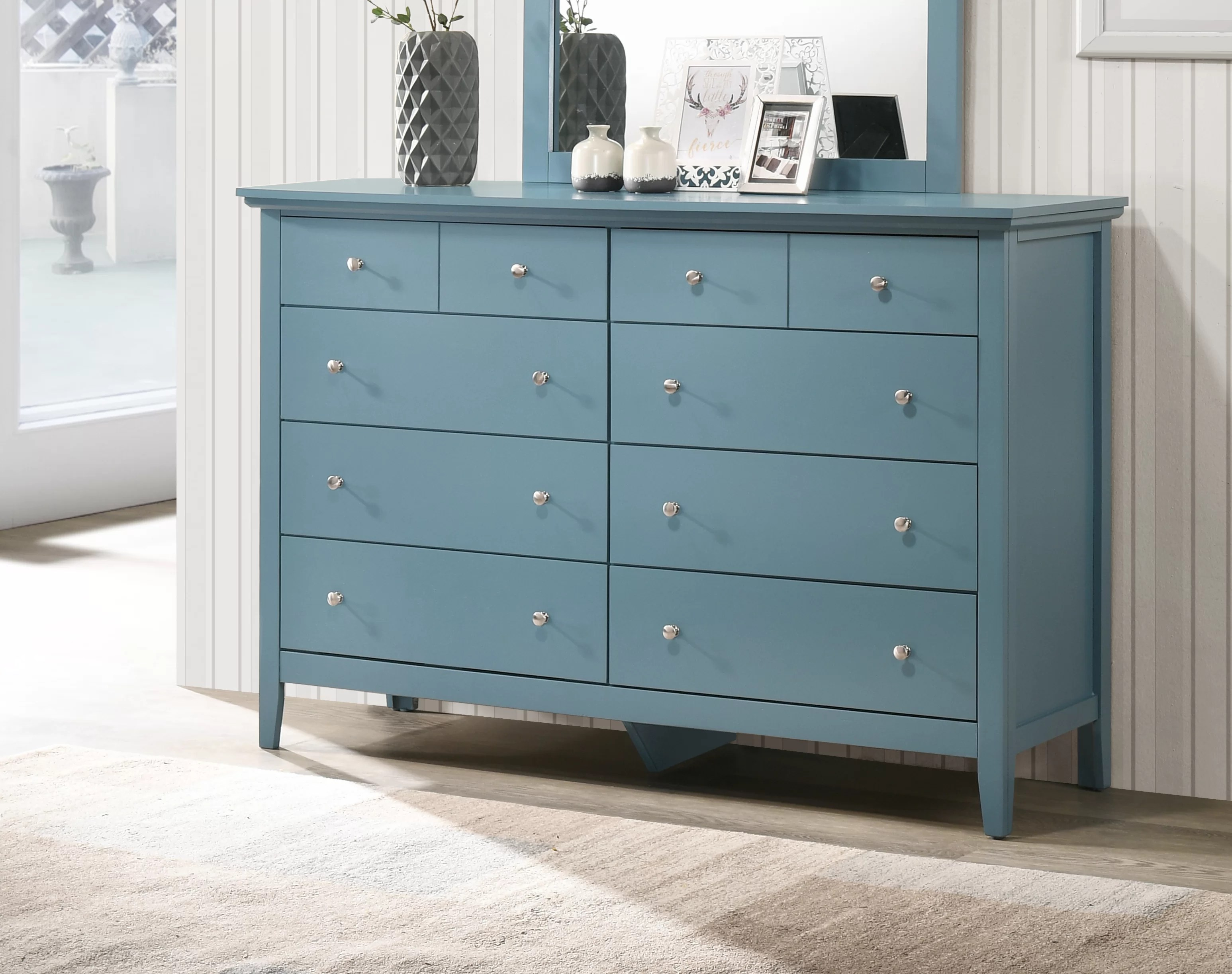 Blue Dressers Chests You Ll Love In 2020 Wayfair