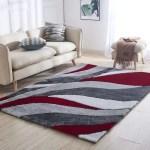 Orren Ellis Neligh Handmade Tufted Red Gray Area Rug Reviews