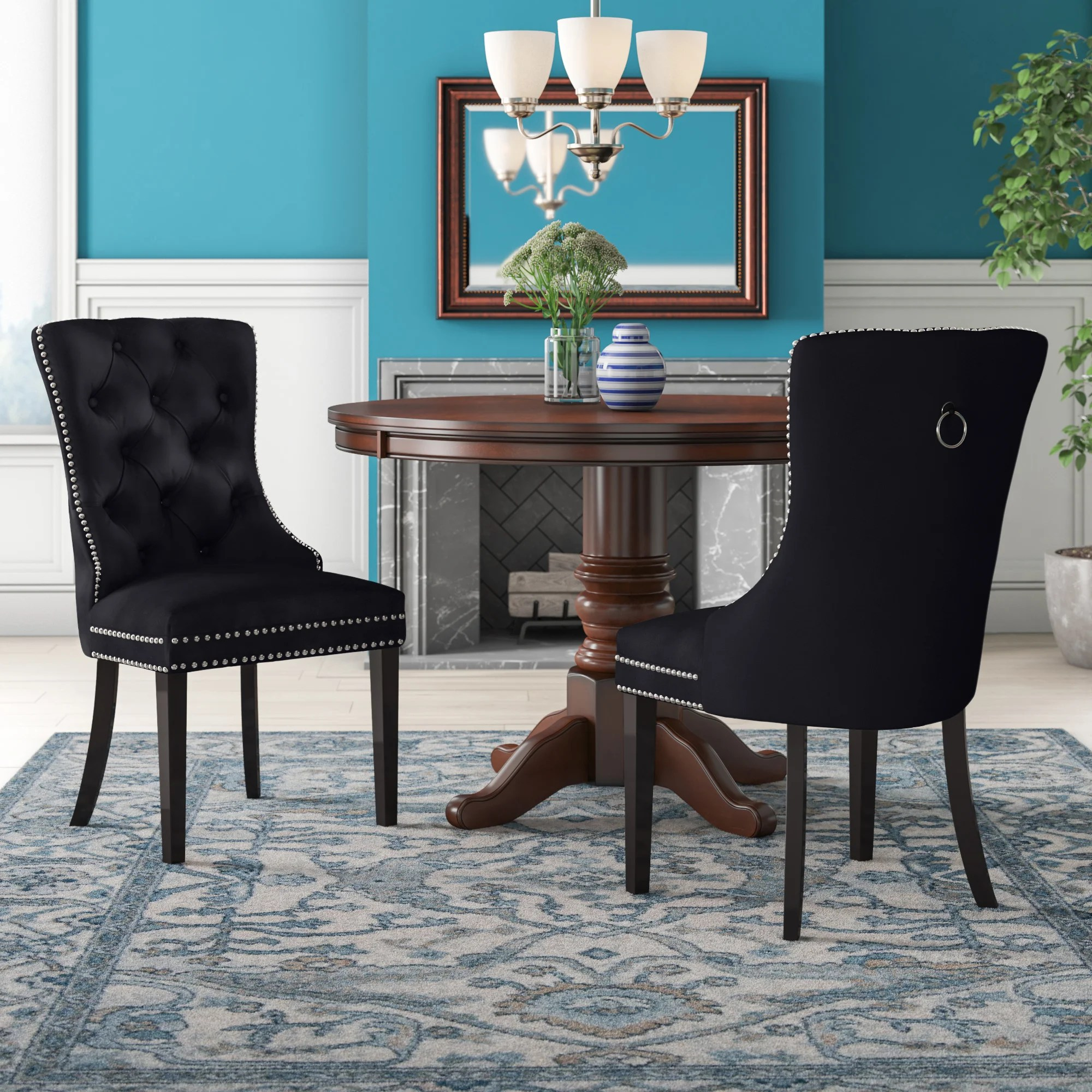 nailhead dining chairs you ll love in