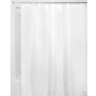 simental vinyl solid shower curtain liner