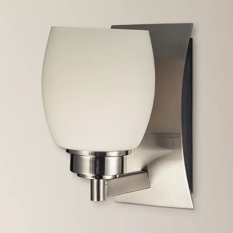 Red Barrel Studio Tucker 1-Light Bath Sconce   Wayfair on Wayfair Bathroom Sconces id=17958