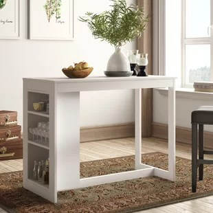 Dining Room Table With Drawers Wayfair