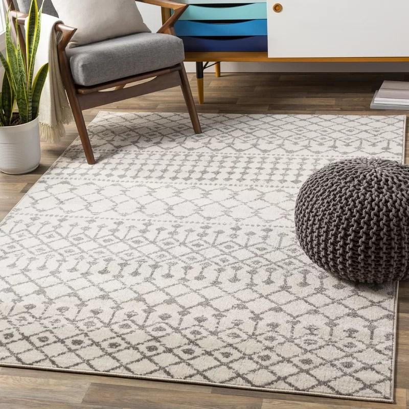 jovani power loom grey beige rug