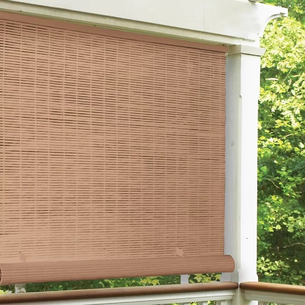 outdoor roll up patio shades