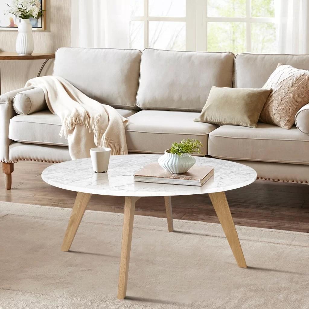 Genuine Marble Coffee Tables You Ll Love In 2020 Wayfair