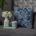 Andover Mills Bedelia Modern Floral Throw Pillow Reviews