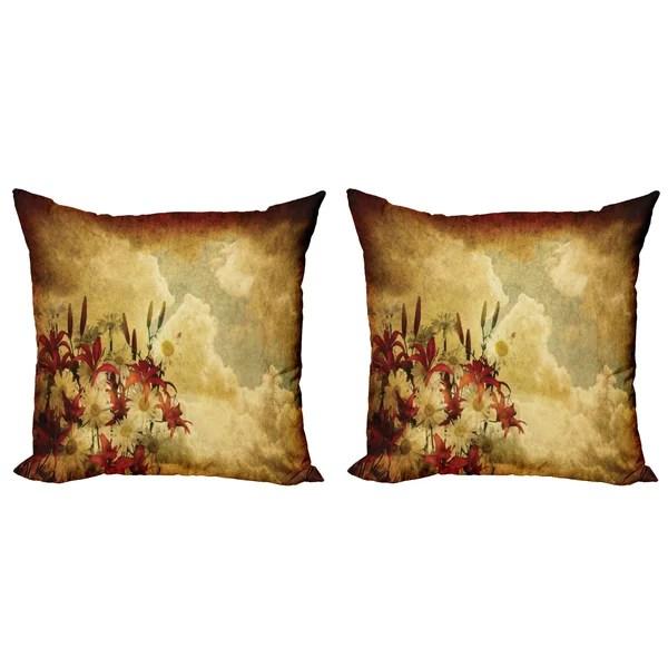 burnt orange pillows