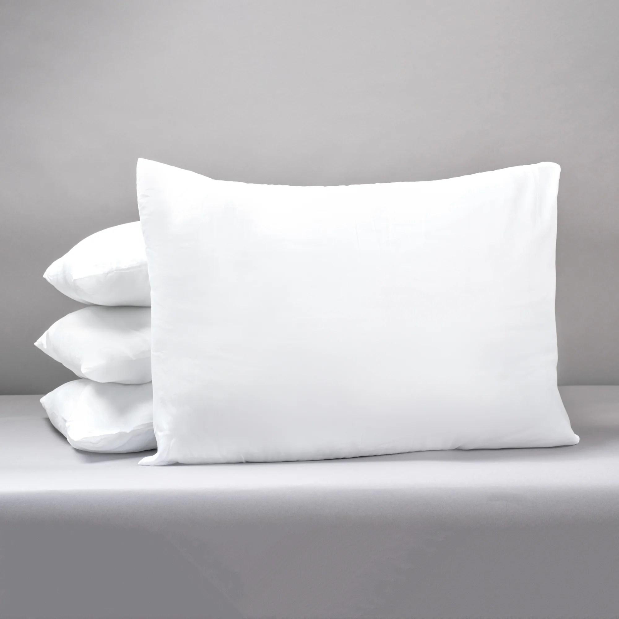 duck feather medium support back sleeper pillow