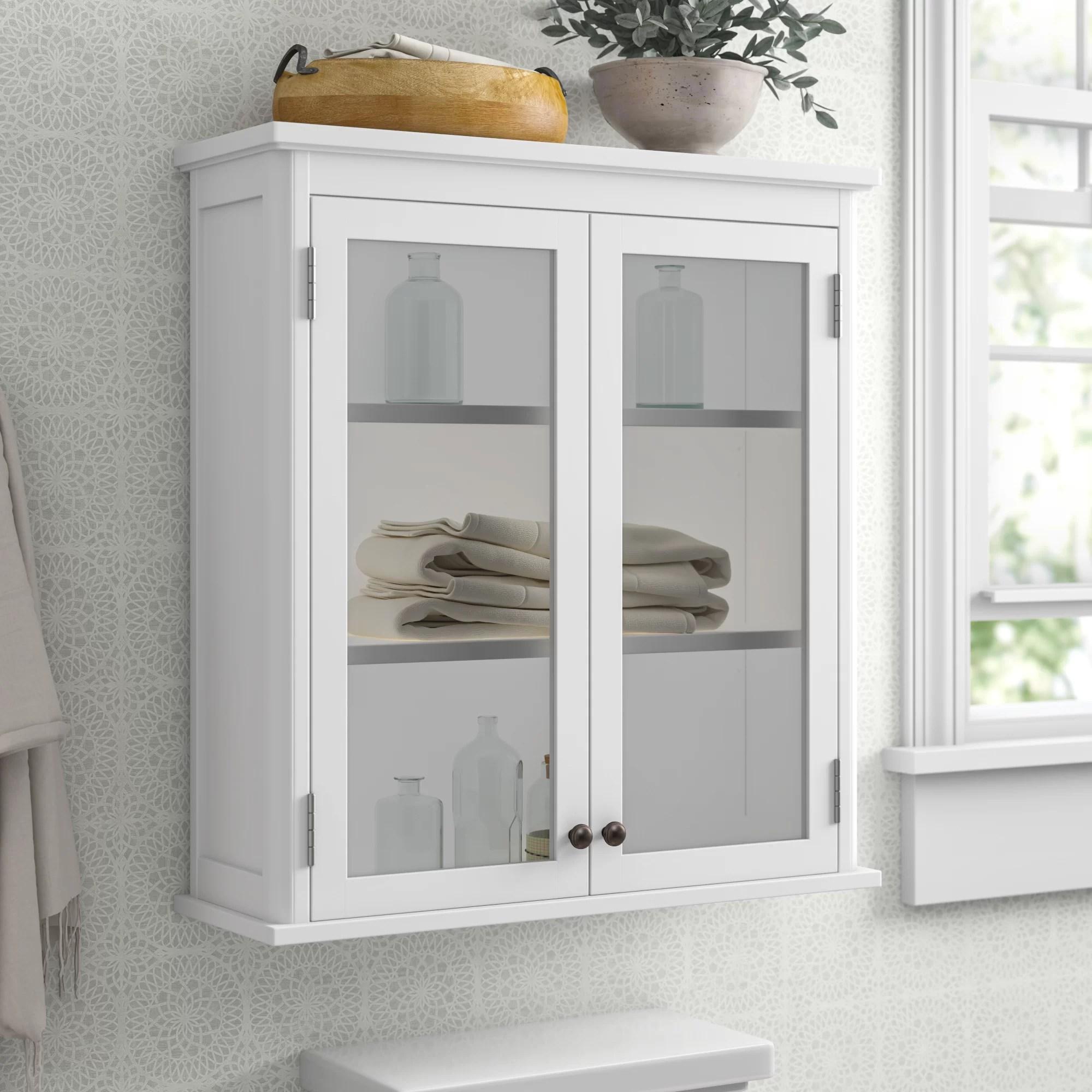 Amett 27 W X 29 H Wall Mounted Bath Storage Cabinet Reviews