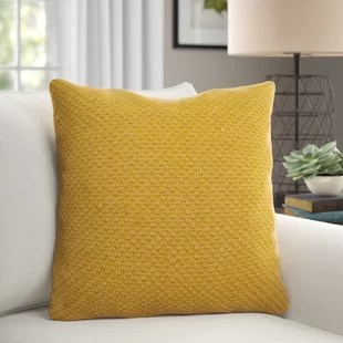 arabi square cotton pillow cover and insert