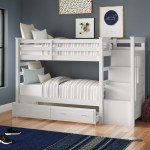 Harriet Bee Leyburn Twin Over Twin Bunk Bed With Trundle And Drawers Reviews