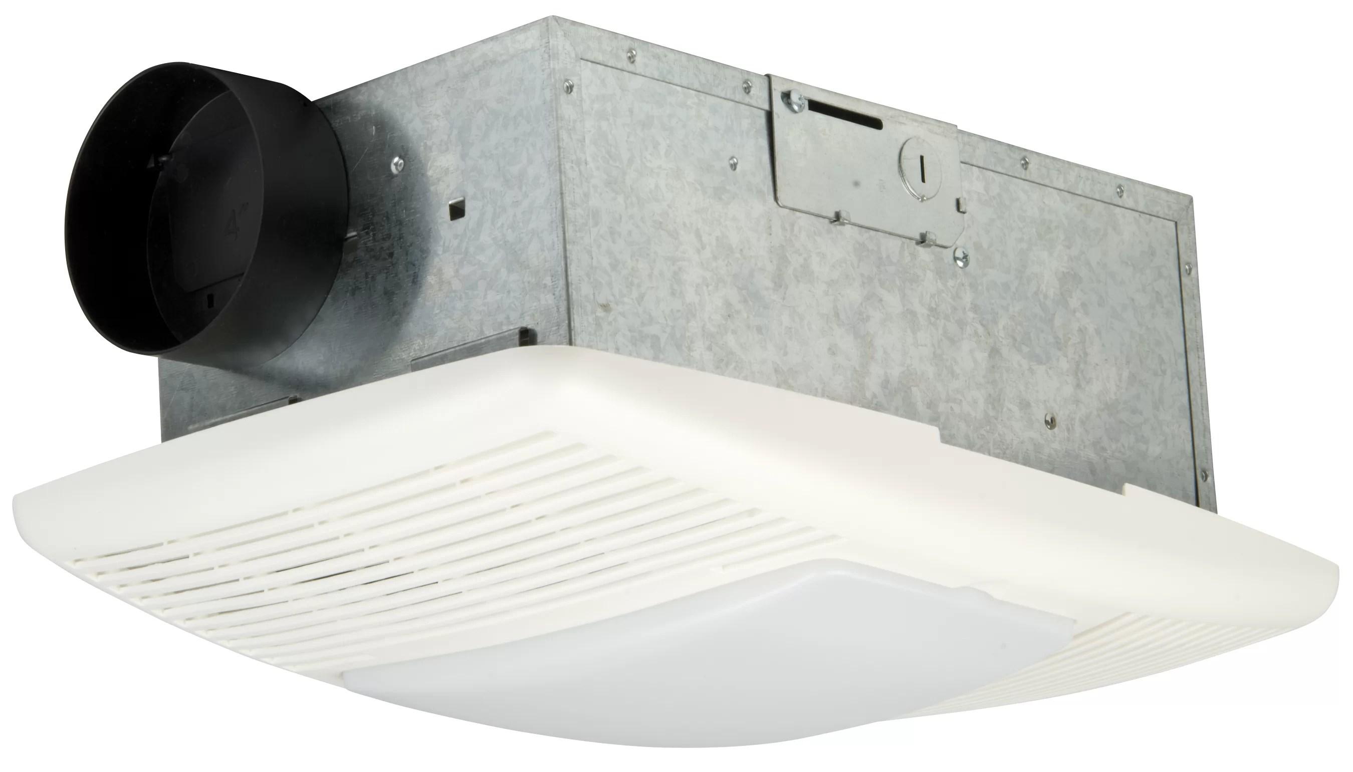 premium builder bath exhaust fan and heat vent 70 cfm