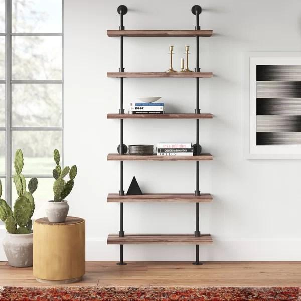 Modern Contemporary Wall Ladder Shelf Allmodern
