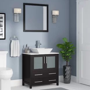 30 inch bathroom vanities you'll love | wayfair.ca