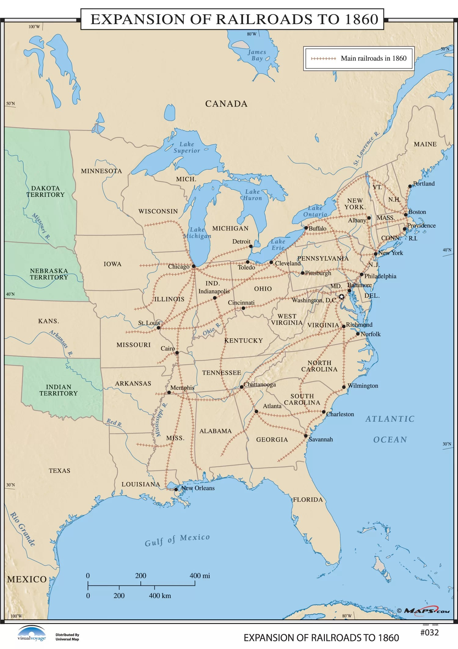 Map Of Us In