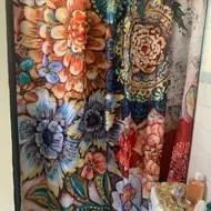 haskell boho bouquet single shower curtain