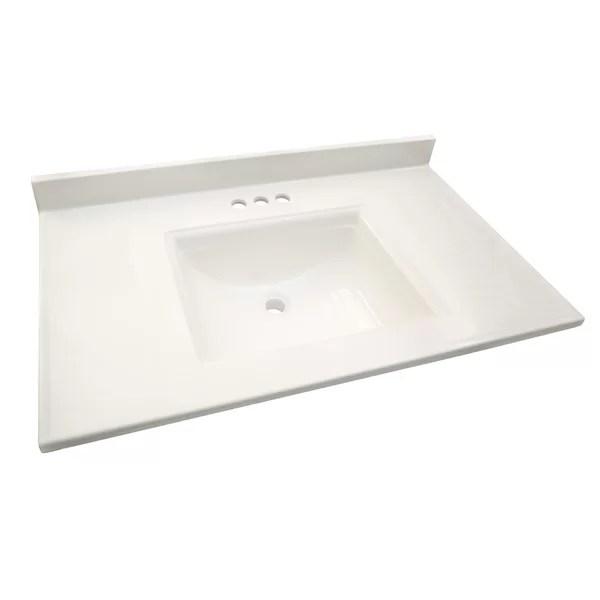 60 inch marble vanity tops