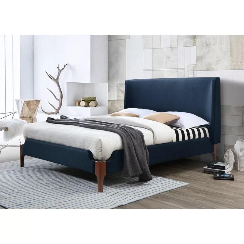 mokane queen upholstered platform bed