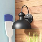 Andover Mills Harriett 12 75 H Outdoor Barn Light With Dusk To Dawn Reviews