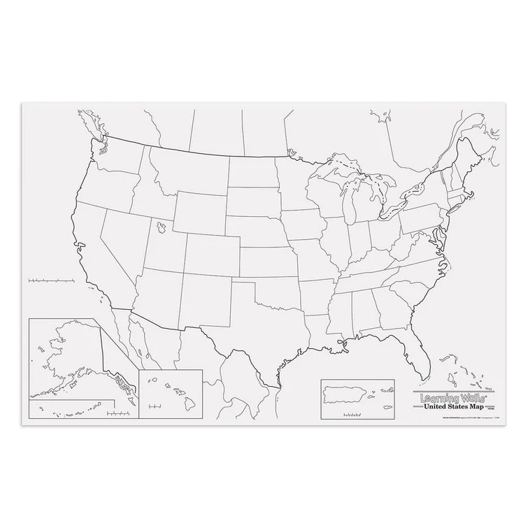 Maybe you're looking to explore the country and learn about it while you're planning for or dreaming about a trip. Pacon Creative Products Giant Us Map Wayfair