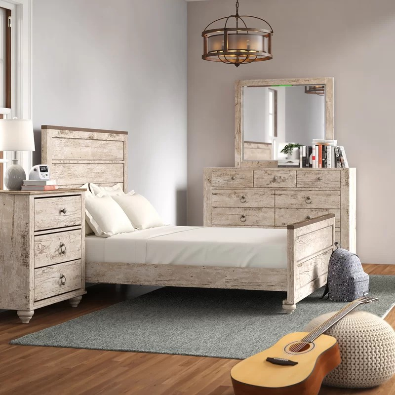 tavistock standard solid wood 4 piece bedroom set
