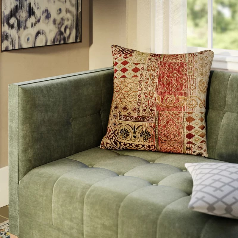 Lenzee Square Pillow Cover & Insert