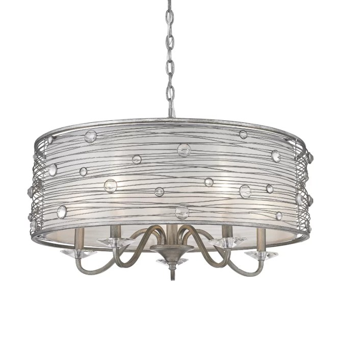 Hermione 5 Light Drum Chandelier