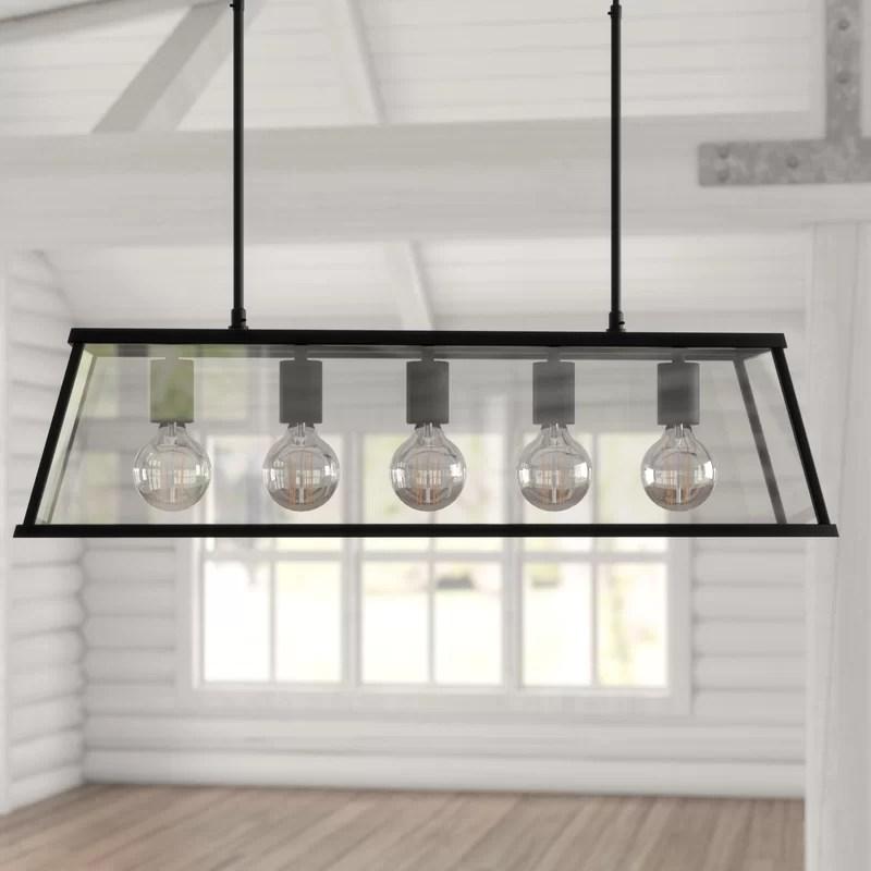 alta 5 light kitchen island pendant