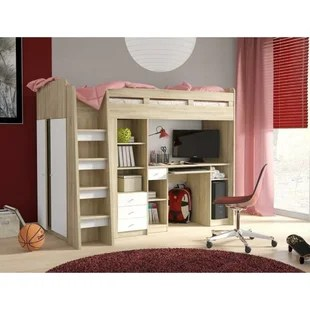 holderness european single mid sleeper bed with furniture set