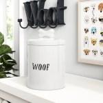 Winston Porter Woof 1 Lb Pet Treat Jar Reviews Wayfair