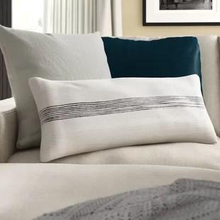 westerly cotton lumbar pillow cover