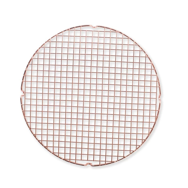 nordic ware round copper cooling grid