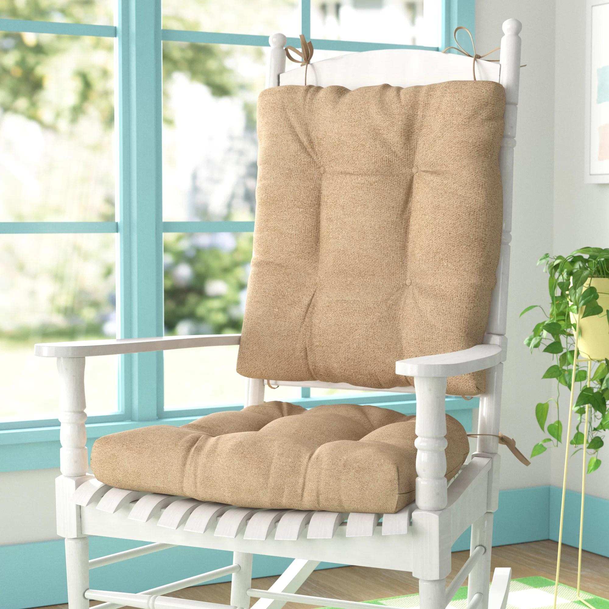 outdoor rocking chair cushions wayfair