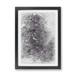 East Urban Home Pretty Succulent Plants Picture Frame Drawing Print On Paper Wayfair Co Uk