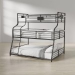 Harriet Bee Prather Twin Over Full Over Queen Bed Reviews