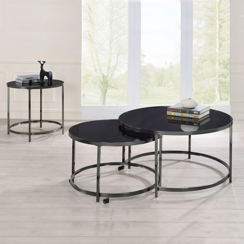 chrome coffee table sets free
