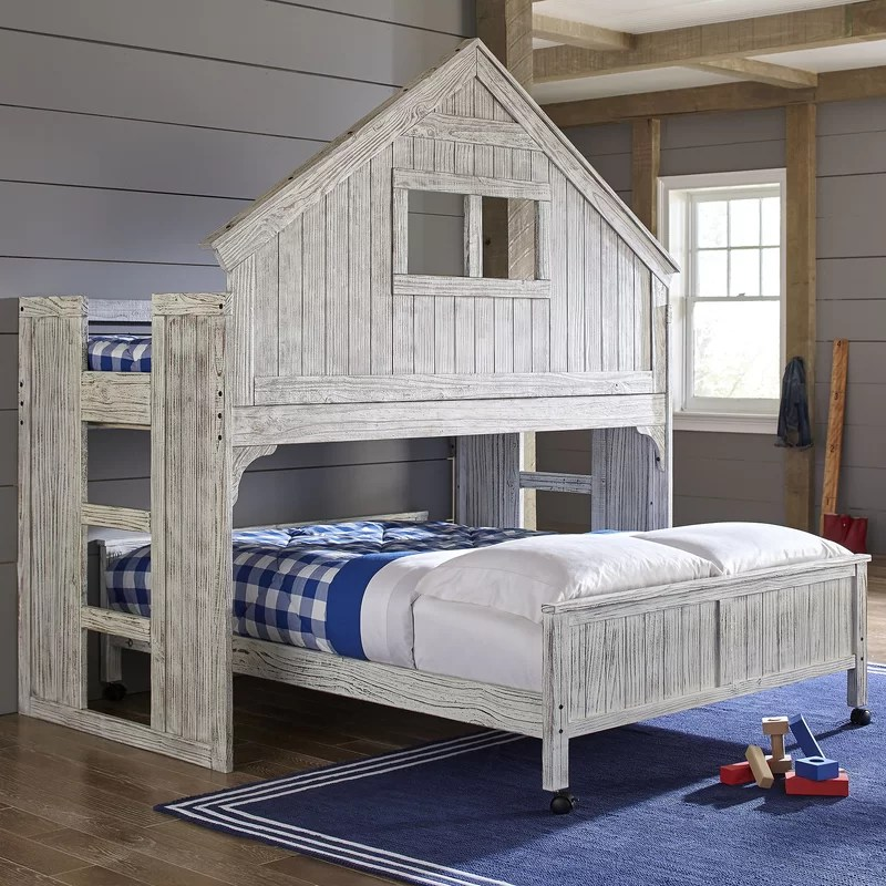 Birch Lane Kids™ Lake House Twin Over Full Bunk Bed ...
