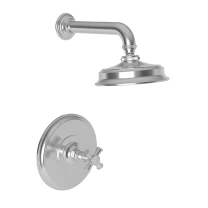 luxury antique brass shower faucets