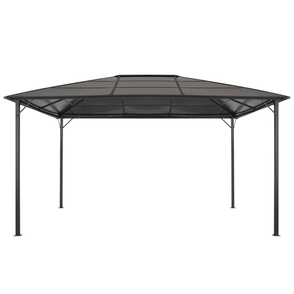 forsyth 4m x 3m steel and aluminium patio gazebo